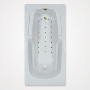 72 by 36 Air Tub / Air Jet tub