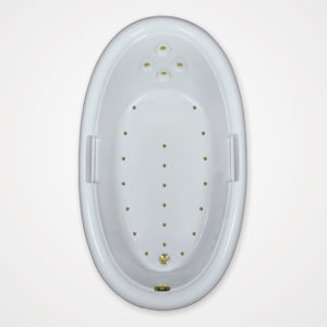 72 by 42 Air Tub / Air Jet tub