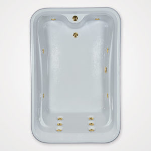 72 by 48 Whirlpool bath tub