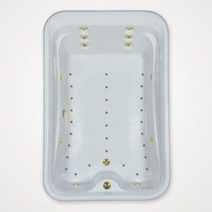 72 by 48 Whirlpool bath and Air Tub combo