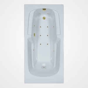 72 by 36 Air bath / Air Jet Tub