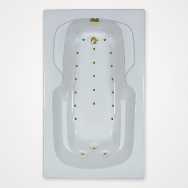60 by 32 Air bath / Air jetted bath
