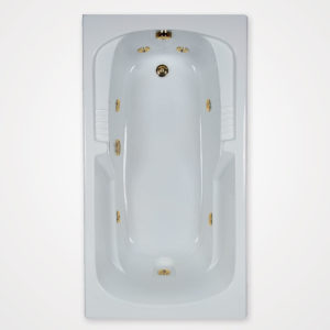 60 by 32 Whirlpool bath tub