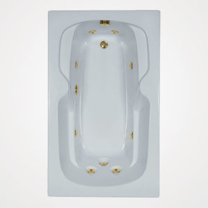 60 by 36 Whirlpool bath tub