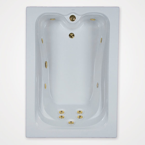 60 by 42 Whirlpool bath tub