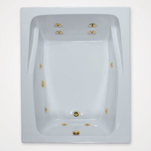 60 by 48 Whirlpool bath tub