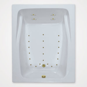 60 by 48 Air Tub / Air Jet tub