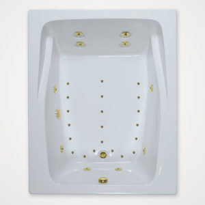 60 by 48 Whirlpool bath and Air Tub combo