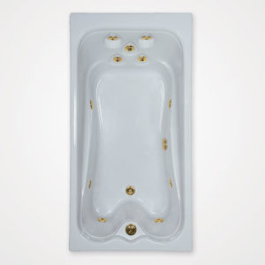 72 by 36 Whirlpool bath tub
