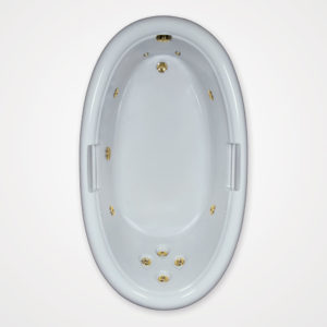 72 by 42 Whirlpool bath tub