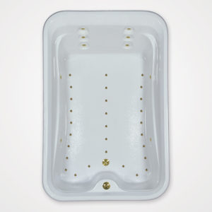 72 by 48 Air Tub / Air Jet tub