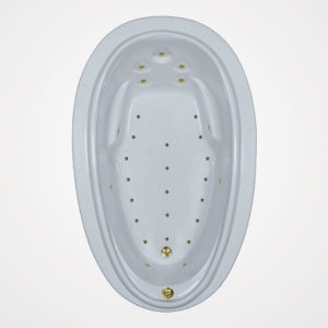 72 by 44 Air bath / Air Jet Tub