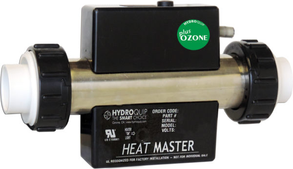 Bath Heater with Ozonater